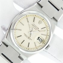 Rolex Oyster Perpetual Date Ατσάλι 35mm Ασημί