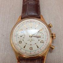 Chronographe Suisse Cie Gult gull 37mm Manuelt brukt