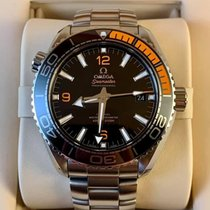 Omega Seamaster Planet Ocean Steel 43.5mm Black Arabic numerals United States of America, Iowa, Des Moines