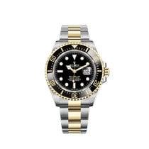 Rolex Sea-Dweller Gold/Steel 43mm Black No numerals Canada, Abbotsford