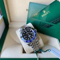 Rolex GMT-Master II Staal 40mm Zwart Geen cijfers Nederland, Den haag