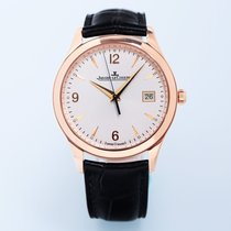 Jaeger-LeCoultre Master Control Date Rose gold 39mm White Arabic numerals