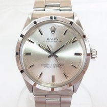Rolex Oyster Perpetual 34 Ocel 34mm Stříbrná Bez čísel