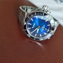 Oris pre-owned Automatic Blue Sapphire crystal 30 ATM