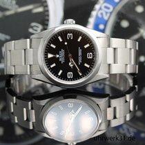 Rolex Explorer Stahl 36mm Schwarz Arabisch Deutschland, Norderstedt