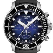 Tissot T1204171704100 Stahl 2020 Seastar 1000 45.5mm neu