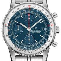 Breitling Navitimer Heritage nuevo Automático Cronógrafo Reloj con estuche original A1332412-CA02-451A