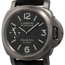 Panerai Luminor Marina 8 Days Titan 44mm Brun Arabiska