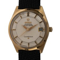 Omega Constellation Yellow gold 34mm White United States of America, Texas, Austin