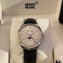 Montblanc 112538 Steel 2015 Heritage Chronométrie 40mm new