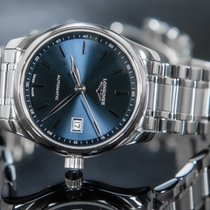 Longines Master Collection Steel 25.5mm Blue No numerals
