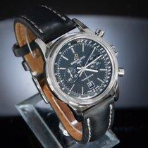 Breitling Transocean Chronograph 38 A4131012/BC06 Muy bueno Acero 38mm Automático