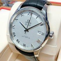 Omega De Ville Hour Vision Stål 41mm Silver Romerska