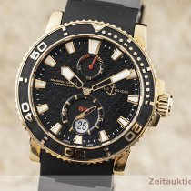 Ulysse Nardin Automatic Black 43mm pre-owned Maxi Marine Diver