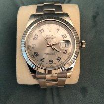 Rolex Datejust II Acero 41mm Plata Sin cifras España, España