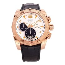 Parmigiani Fleurier Pershing Rose gold 45mm Silver United States of America, Texas, Plano