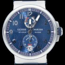 Ulysse Nardin Marine Chronometer Manufacture Acier 43mm Bleu Arabes