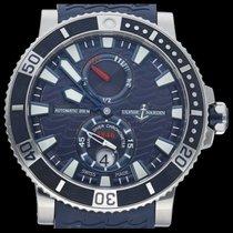 Ulysse Nardin Maxi Marine Diver Acier 45mm Bleu Sans chiffres