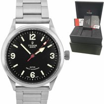 Tudor Heritage Ranger Steel 41mm Black United States of America, New York, Massapequa Park
