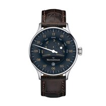 Meistersinger Stahl 40mm Automatik AS902OR neu