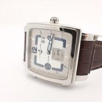 Ulysse Nardin Quadrato Dual Time Perpetual 42mm Silver Arabic numerals