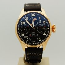 IWC Rose gold Automatic Brown Arabic numerals 46mm Big Pilot
