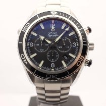 Omega Seamaster Planet Ocean Chronograph Acier 45mm Noir