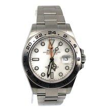 Rolex Explorer II Steel 42mm White No numerals United States of America, New York, New York