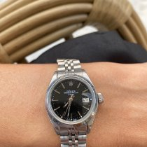 Rolex Oyster Perpetual Lady Date Ατσάλι 26mm Μαύρο Ελλάδα, 19010