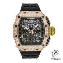 Richard Mille RM 011 Titanium 50mm Grey Arabic numerals United States of America, New York, New York