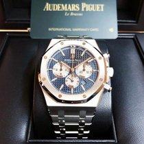 Audemars Piguet Royal Oak Chronograph Acier 41mm Bleu Sans chiffres France, Paris