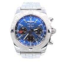 Breitling AB042011/C851/375A Acier 2018 Chronomat 44 GMT 44mm occasion