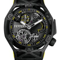 Hublot Techframe Ferrari Tourbillon Chronograph Carbon 45mm Transparent United States of America, Florida, Sunny Isles Beach