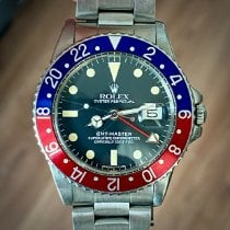 Rolex 1675 Steel 1965 GMT-Master 40mm pre-owned