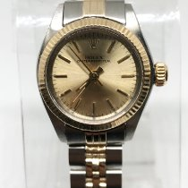 Rolex Oyster Perpetual 26 Gold/Steel 24mm Gold No numerals United States of America, New York, New York