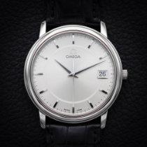 Omega De Ville Prestige Acier 34.5mm Argent Sans chiffres