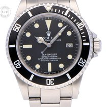 Rolex Sea-Dweller Steel 40mm Black No numerals United Kingdom, Amsterdam