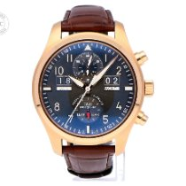 IWC Pilot Spitfire Perpetual Calendar Digital Date-Month Oro rosa 46mm Gris Arábigos