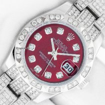 Rolex Lady-Datejust Steel 26mm Red No numerals United States of America, California, Los Angeles