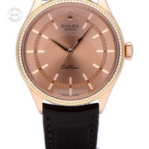 Rolex Cellini Time Rose gold 39mm Black No numerals United Kingdom, Amsterdam