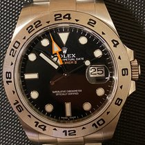 Rolex Explorer II Stahl 42mm Schwarz Keine Ziffern Österreich, Graz
