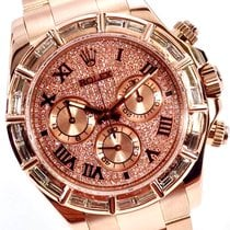 Rolex Daytona Or rose 40mm Or (massif) Romains