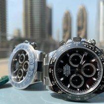 Rolex Daytona Steel 40mm Black No numerals UAE, Dubai