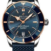 Breitling Superocean Heritage 42 Сталь Синий
