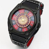 H.I.D. Watch Stahl 45mm Automatik T1D8 – M010801BLK (Casino Edition) neu