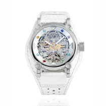 H.I.D. Watch Steel 40mm Automatic T1D3 – M010311J (Intaglio Edition Silver Tone Bezel with color stones index) new