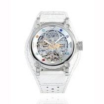 H.I.D. Watch Stahl 40mm Automatik T1D3 – M010311J (Intaglio Edition Silver Tone Bezel with color stones index) neu