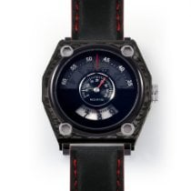 H.I.D. Watch Steel 45mm Automatic M010112 with Carbon Fibre Outer Case new