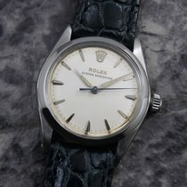 Rolex Acier 30.5mm Blanc