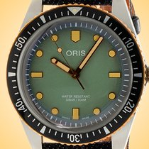 Oris Divers Sixty Five Steel 40mm Green Arabic numerals United States of America, Illinois, Northfield